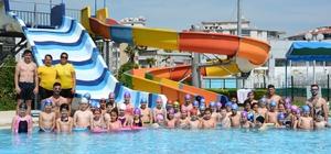 Torbalı'da yüzme kurslarına yoğun ilgi