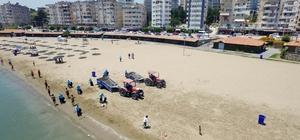 Adana'nın plajları bayram yoğunluğuna hazır