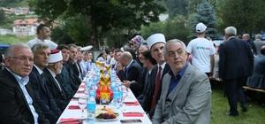 500 yıllık tekkede Evlad-ı Fatihan'la iftar yaptılar