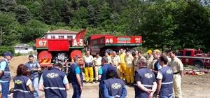 OBM'de Yangın eğitim ve tatbikatları sona erdi