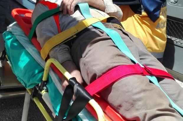 Kahramanmaraş'ta inşaat iskelesi çöktü: 3 yaralı
