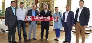Başkan Baran Türkiye Yelken Federasyonu yöneticilerini ağırladı