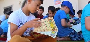 Siverek'te yaz Kur'an kursları başladı