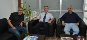 SGK Müdürü Recai Sani Balcıoğlu Söke'ye veda ediyor