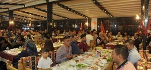 Şehit aileleri ve gaziler iftar programında bir araya geldi