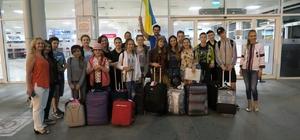 Ukraynalı şehit çocukları Antalya'da tatilde