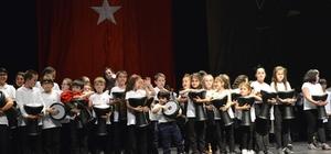 Çocuk Ritim Topluluğu ilk gösterisini gerçekleştirdi