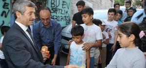 Başkan Tahmazoğlu aile ziyaretlerini sürdürüyor