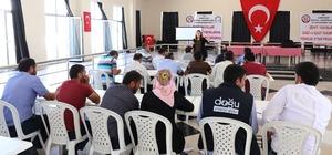 Belediye çalışanlarına 'iş sağlığı ve güvenliği' eğitimi