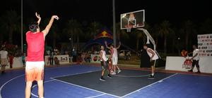 3x3 Sokak Basketbolu Finike Etabı sona erdi