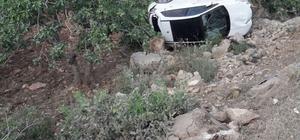 Emniyet Kemeri takan sürücü kazayı hafif sıyrıklarla atlattı