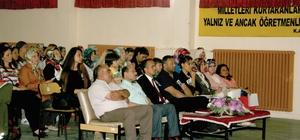 Sungurlu'da Aybüke öğretmen için anma töreni