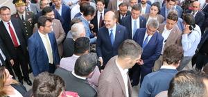 İçişleri Bakanı Soylu Aksaray'da