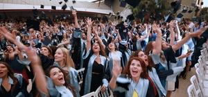 Yaşar'da mezuniyet coşkusu