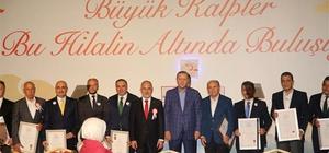 Kızılay'dan Zeytinburnu Belediyesi'ne altın madalya