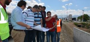 DSİ Bölge Müdürü Coşkun'dan taşkın projelerine inceleme
