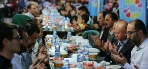 Başkan Çolakbayrakdar iftarda vatandaşlarla birlikte