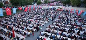 Küçükçekmece mahalle iftarları devam ediyor