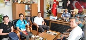 Müdür Elçi'den Müdür Özdemir'e ziyaret