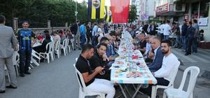 Çekmeköy'de sarı lacivert iftar