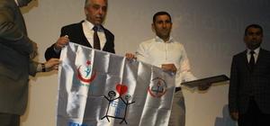 Okullara beyaz bayrakları törenle verildi