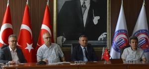 ÇOMÜ'de merkez müdürleri toplantısı yapıldı