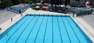 Antakya yüzme havuzu yeni sezona hazır