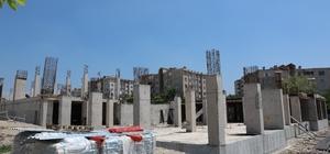 İlimtepe Kültür Merkezi hızla yükseliyor