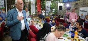 Başkan Seyfi Dingil Şehit ve Gazi aileleriyle iftarda buluştu