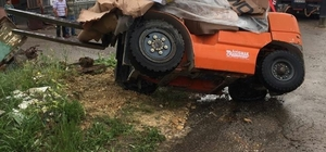 Beyşehir'de iş kazası: 1 yaralı
