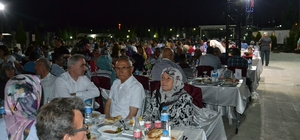 Şehit ve gazi aileleri iftar sofrasında buluştu