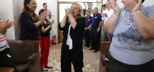 Başkan Uyar'ı duygulandıran kutlama