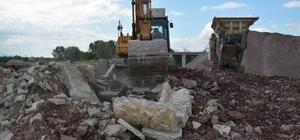 Kartepe'de inşaat atıklarından geri dönüşüm