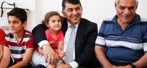 Başkan Fadıloğlu, iftar öncesi şehit ailesini ziyaret etti