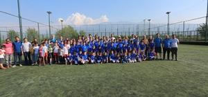 Gürsu Belediyespor yaz futbol okulu başladı