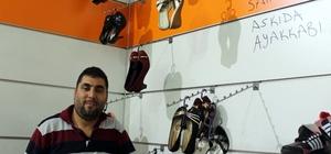Ayakkabılar şehit yakınlarına ve ihtiyaç sahiplerine bedava