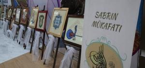 Melmek öğrencileri tezhip sergisi açtı