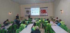 İnönü Belediyesi çalışanlarına iş sağlığı ve güvenliği semineri verdi