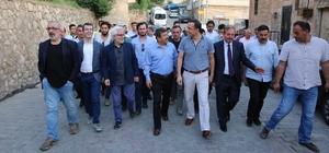 Darıca Belediyesi Savur'a iftar sofrası kurdu