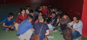 Giresun'da 109 kaçağın yakalanması