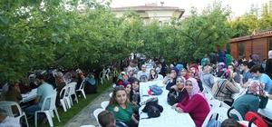 Bağcılar'da Kayısı Bahçesi'nde iftar