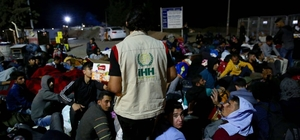 Bayramı ülkelerinde karşılayacak Suriyeliler sınır kapısında