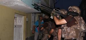 Adana'da terör örgütü PKK operasyonu