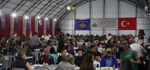 Osmangazi Belediyesi'nden Kosova'da binlerce kişiye iftar
