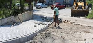 Akçakoca Belediyesi Sağlık ocağının çevresi düzenleniyor