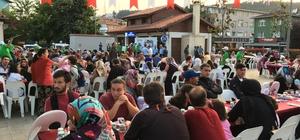 Beykoz'da sokak iftarları bereketi sürüyor
