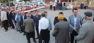 Yavuzeli Belediyesinde iftar ve şenlik devam ediyor
