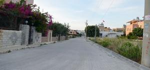 Didim Belediyesi üst yapı çalışmalarını Mersindere'de sürdürüyor