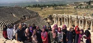 Pamukkale Belediyesi Simavlı öğrencileri konuk etti