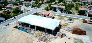 Tohma Kültür Merkezi inşaatı devam ediyor